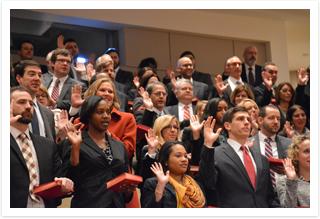 ADAs getting sworn in